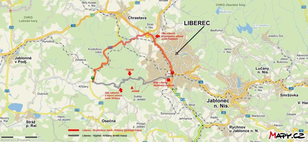mapa_cesty